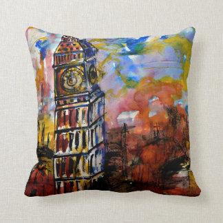 CushyCushions, Big Ben Strikes Ten 41 cm x 41 cm Throw Pillow