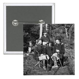 Custer Friends 1860s Buttons
