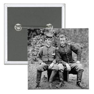 Custer Prisoner 1862 Pinback Button