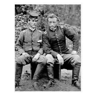 Custer Prisoner 1862 Postcards