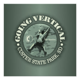 Custer SP (Going Vertical) Poster