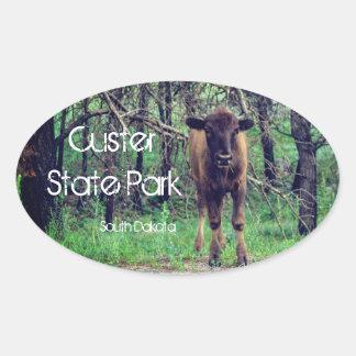 Custer State Park Baby Bison Sticker