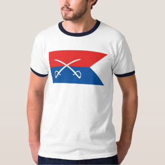 Custer's Guidon Flag - Civil War T-Shirt