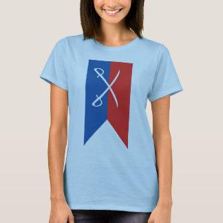 Custer's Guidon (Flag) - Civil War Vertical T-Shirt