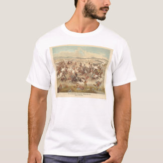 Custer's Last Charge (0481A) T-Shirt