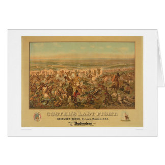 Custer's Last Fight (2610A) Card