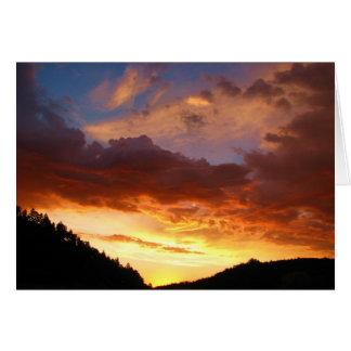 Custer's Last Sunrise Greeting Card