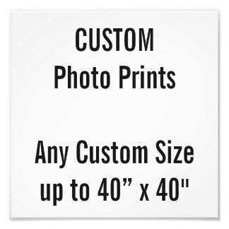 "Custom 10"" x 10"" Photo Print (or any custom size)"