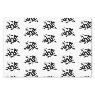 Custom 10lb Tissue Paper, White DRAGON Tissue Paper