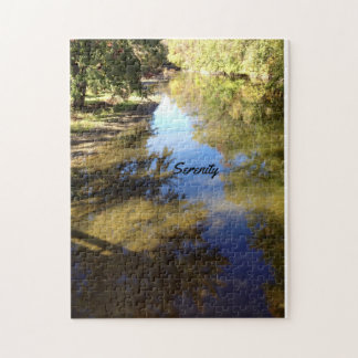 Custom 10x14 puzzle with creek