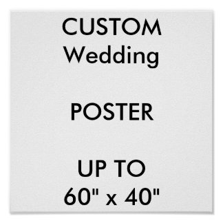 "Custom 11"" x 11"" Sq. Poster MATTE Portrait"