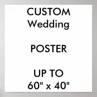 "Custom 11"" x 11"" Sq. Poster MATTE Portrait"