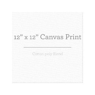 Custom 12 X 12 Canvas