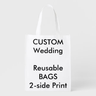"Custom 12"" x 16"" Reusable Bag"