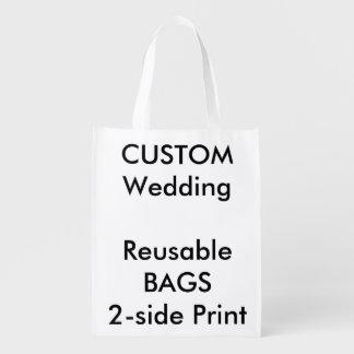 "Custom 12"" x 16"" Reusable Bag Market Tote"