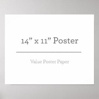 Custom 14 x 11 Poster