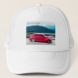 Custom 1940 Famous American Make Sedan Trucker Hat