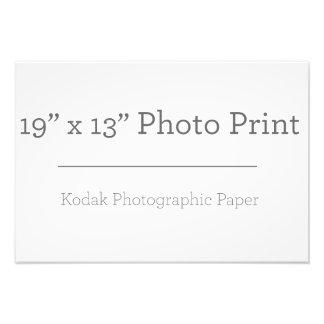 Custom 19 x 13 Photo Print