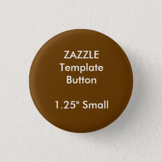 "Custom 1.25"" Small Round Button Blank Template"