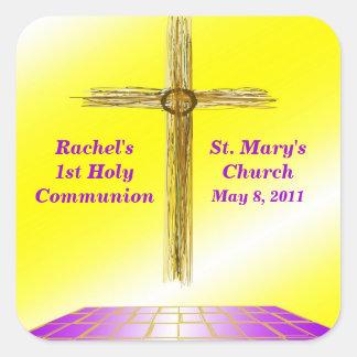 Custom 1st Communion Stickers