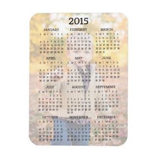 Custom 2015 Calendar Photo Magnet