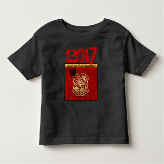 Custom 2017 Chinese New Year of The Rooster B2 Tee