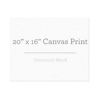 Custom 20 X 16 Canvas