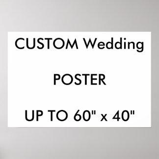 "Custom 24"" x 16"" Poster GLOSSY Landscape"