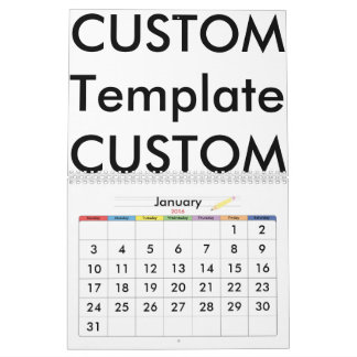 Custom 2-Page Calendar, EXCEPTIONAL CUSTOMIZATION! Wall Calendars