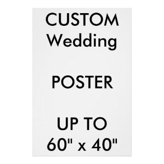 "Custom 32"" x 48"" Poster THICK Portrait"