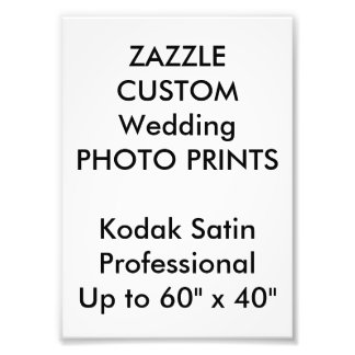 "Custom 5"" x 7"" Professional Photo Prints"
