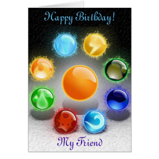 Custom 5x7 Happy Birthday Greeting Cards