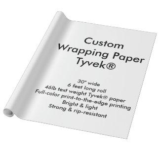 Custom 6' Tyvek® Wrapping Paper Roll