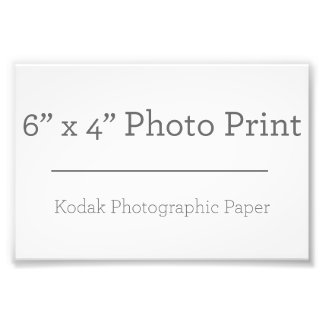 Custom 6 x 4 Photo Print