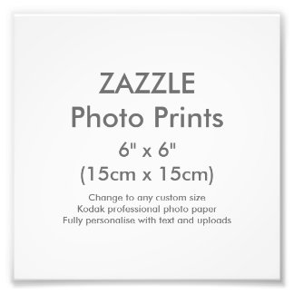 "Custom 6"" x 6"" Square Photo Print Template"