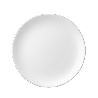 "Custom 8.5"" Decorative Porcelain Plate"