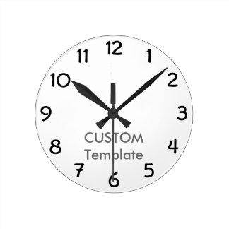 "Custom 8"" ROUND Wall Clock GARGOYLE B."