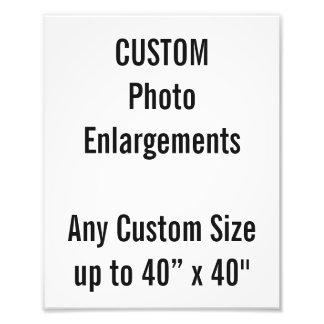 "Custom 8""x10"" Photo Enlargement up to 40""x40"""