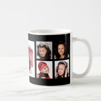 Custom 9 Instagram Photo Collage Coffee Mug