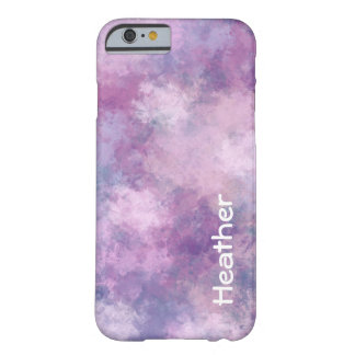 Custom Abstract Blue, Lilac, Pink Barely There iPhone 6 Case