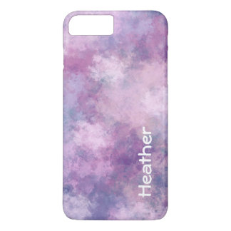 Custom Abstract Blue, Lilac, Pink iPhone 7 Plus Case