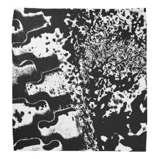 Custom abstract design bandana