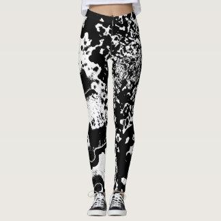 Custom abstract design leggings