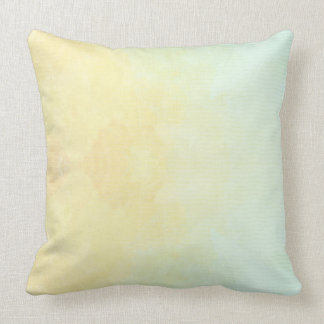 Custom Abstract Pastel Colours Throw Pillow
