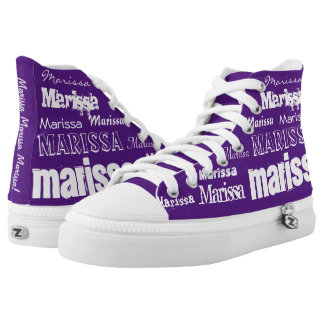 CUSTOM Add Your Name! High Tops