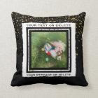 Custom Add Your Photo and Text | Family Keepsake Throw Pillow