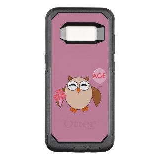 Custom Age Birthday Owl Phone Case