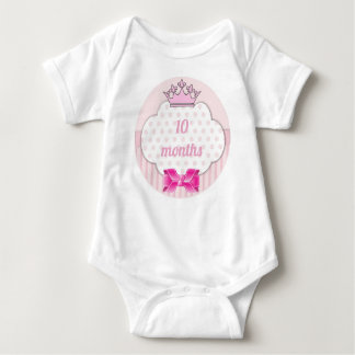 Custom Age Princess Baby One-Zee Baby Bodysuit