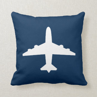 Custom Airplane Throw Pillow