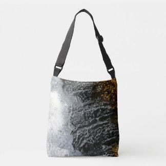 Custom All-Over-Print Cross Body Bag fancy water
